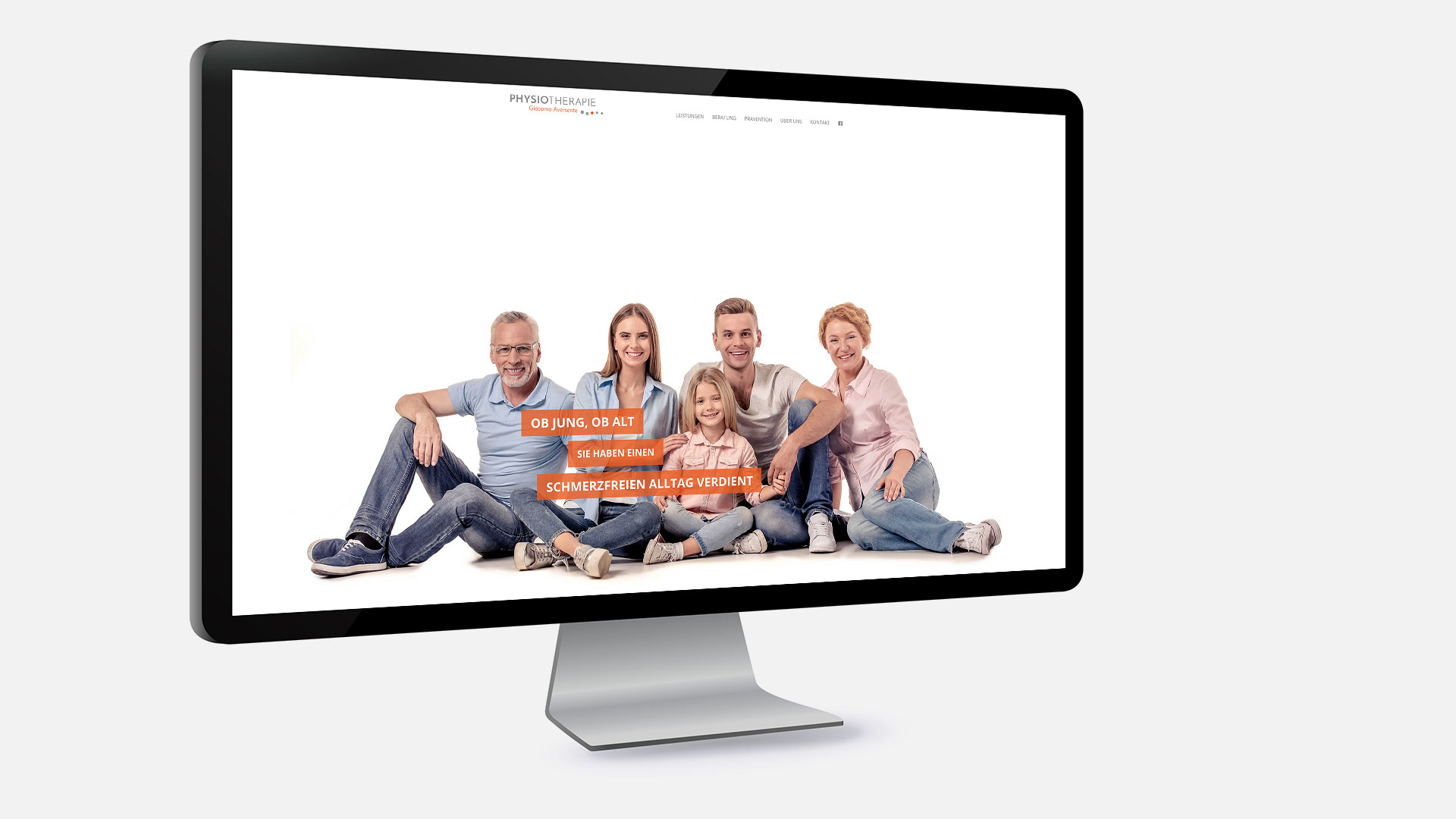 Physiotherapie Remscheid - Website