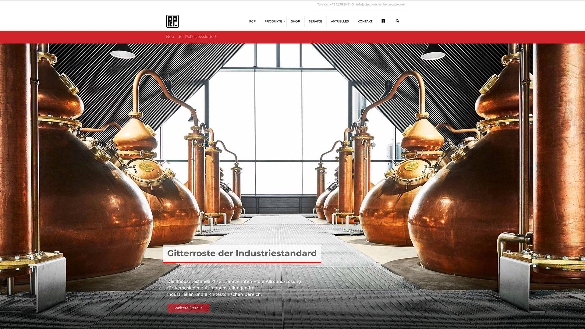 Website / Webshop PcP